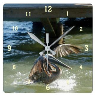 Reloj Cuadrado Splashdown