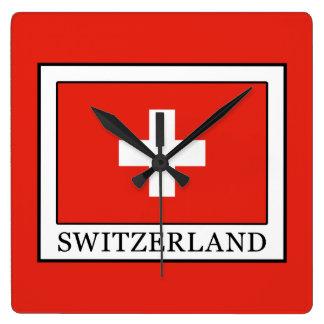 Reloj Cuadrado Suiza