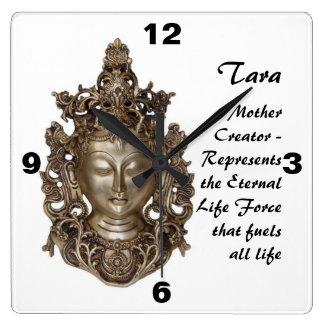 Reloj Cuadrado Tara