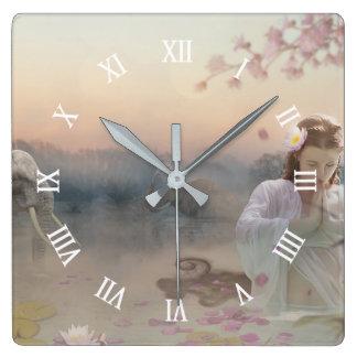 Reloj Cuadrado Zen