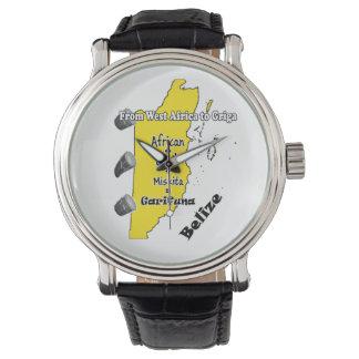 Reloj cultural de Garifuna