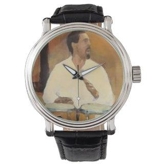 Reloj Custom retro tambor