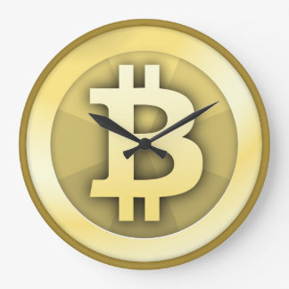 Reloj de Bitcoin Reloj Redondo Grande