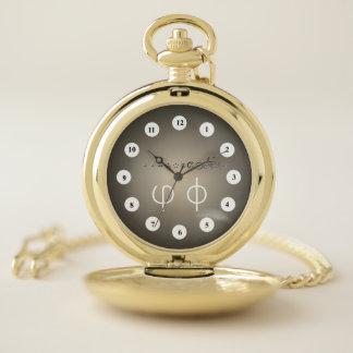 Reloj De Bolsillo 12Digit centesimal Fibonacci Seq (Cf) por K