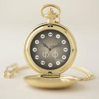 Reloj De Bolsillo 12Digit centesimal Fibonacci Seq (Rf) por K