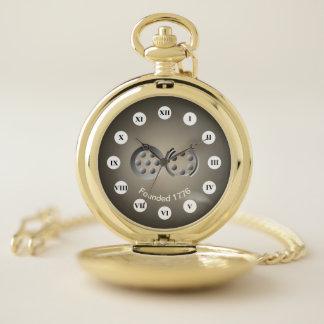 Reloj De Bolsillo 1776 centesimal (cara romana) por Kenneth Yoncich