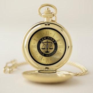 Reloj De Bolsillo Abogado de oro de las épocas el | Personalizable