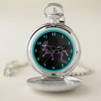Reloj De Bolsillo Alces eléctricos