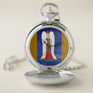 Reloj De Bolsillo Ángel ortodoxo ruso