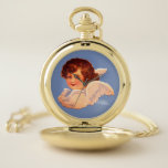 RELOJ DE BOLSILLO ANGEL POCKET VER RETRO VICTORIANO
