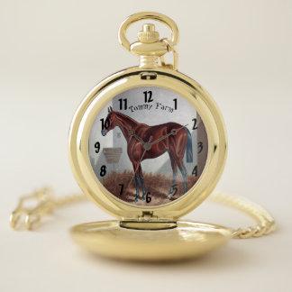 Reloj de bolsillo árabe de moda elegante moderno