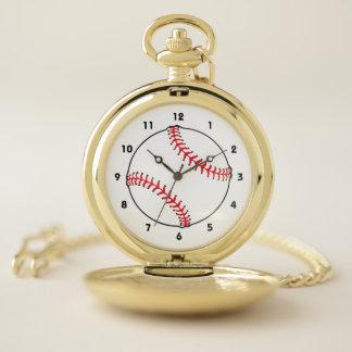 Reloj De Bolsillo Béisbol