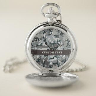 Reloj De Bolsillo Camuflaje urbano