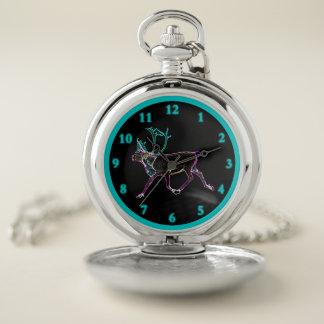 Reloj De Bolsillo Caribú eléctrico