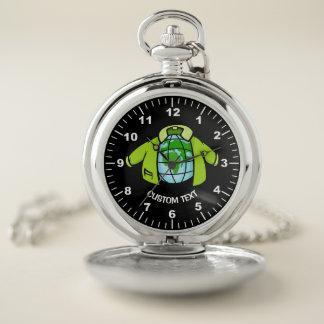 Reloj De Bolsillo Chaqueta del globo