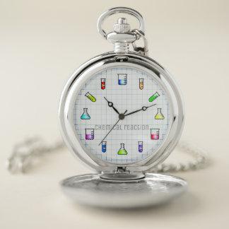 Reloj De Bolsillo Ciencia del trabajo de laboratorio de química de