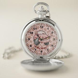 Reloj De Bolsillo Coche del MOO