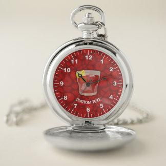 Reloj De Bolsillo Cóctel de Americano