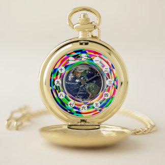 Reloj De Bolsillo Conecte a tierra la sensación (china/japonés) por