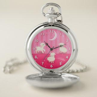 Reloj De Bolsillo Corderos del bebé