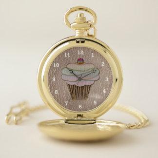 Reloj De Bolsillo Cuero-Mirada que cuece suavemente