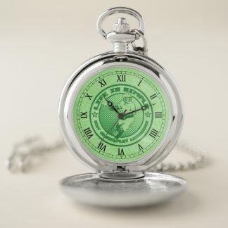 Reloj de bolsillo de Eat Sleep Play LaCrosse