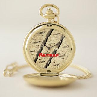 Reloj de bolsillo de encargo del retiro