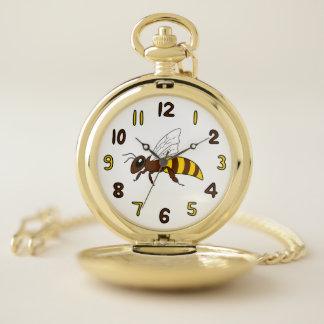 Reloj de bolsillo de la abeja