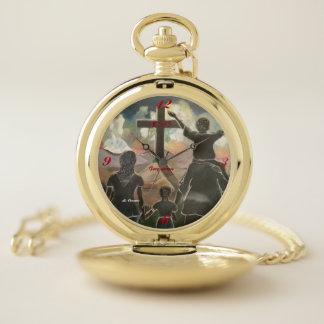 Reloj de bolsillo de la fe y del perdón