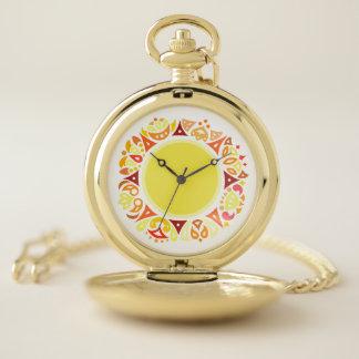 Reloj de bolsillo de Sun