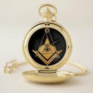 Reloj de bolsillo del arte del símbolo del