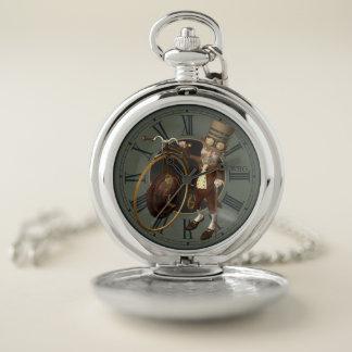 Reloj de bolsillo del comino del penique del