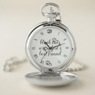 Reloj de bolsillo del mejor amigo de la cita de la