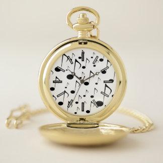 Reloj de bolsillo del modelo de muchas notas