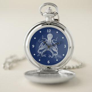 Reloj de bolsillo del pulpo