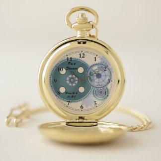 Reloj de bolsillo del vapor