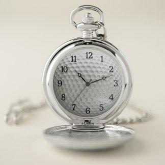 Reloj De Bolsillo Deporte de la pelota de golf
