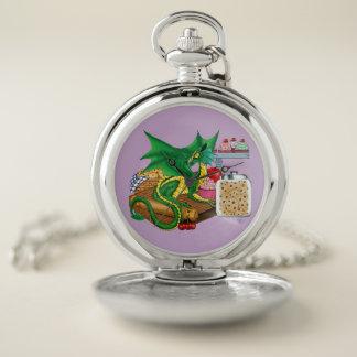 Reloj De Bolsillo Dragón de la cocina