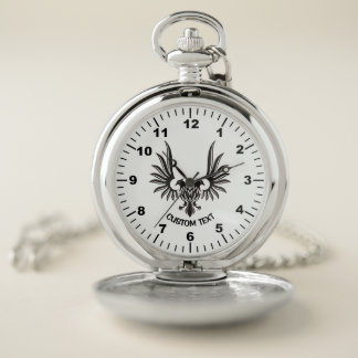Reloj De Bolsillo Eagle con dos cabezas