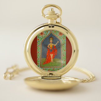 Reloj De Bolsillo El Firebird (serie de la moda del cuento de hadas