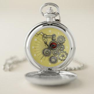 Reloj De Bolsillo El vintage Steampunk inspiró el gráfico mecánico