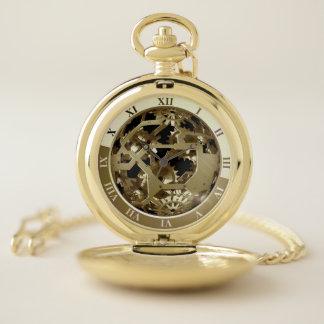 Reloj De Bolsillo Engranajes