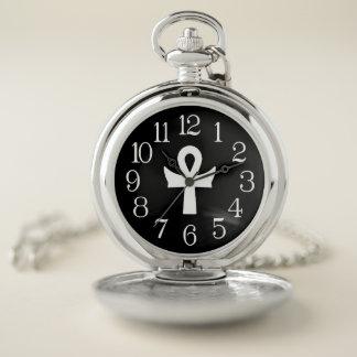 Reloj De Bolsillo Estilo clásico Pocketwatch del símbolo de Ankh del
