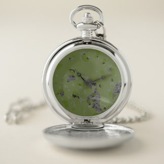 Reloj De Bolsillo Extracto de Camo