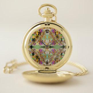 Reloj De Bolsillo Extracto en colores de la joya