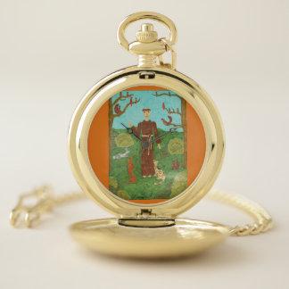 Reloj De Bolsillo Franciscos de Asís del santo