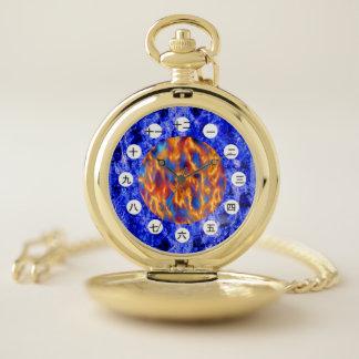 Reloj De Bolsillo Glaciem e Ignis (chinos/japonés) por K Yoncich