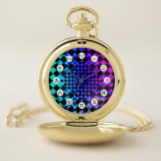 Reloj De Bolsillo Inspectores ondulados (chinos/japonés) por K