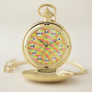Reloj De Bolsillo Interferencia brillante (cara coreana) por K