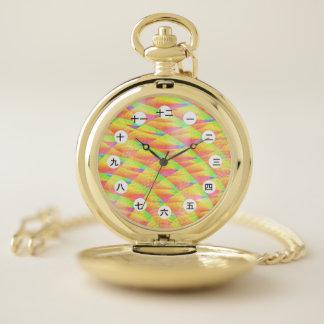Reloj De Bolsillo Interferencia brillante (china/japonés) por K
